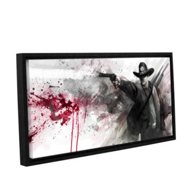 Brushstone Justice Gallery Wrapped Floater-FramedCanvas Wall Art