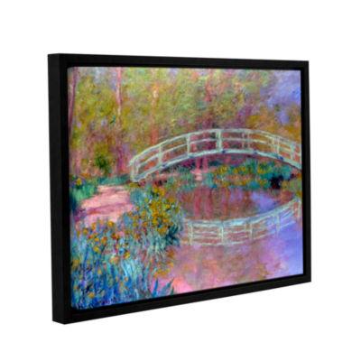 Brushstone Japanese Bridge Gallery Wrapped Floater-Framed Canvas