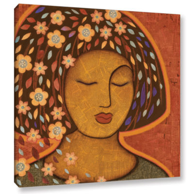 Brushstone Kali Gallery Wrapped Canvas Wall Art