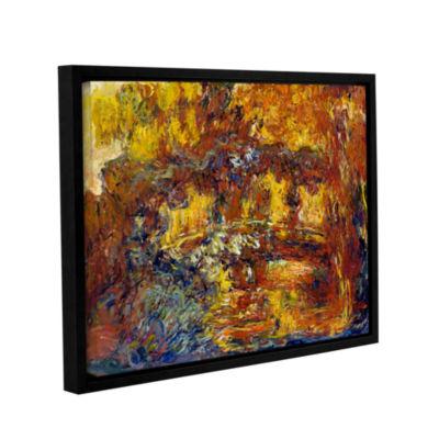Brushstone Japanese Fottbridge Gallery Wrapped Floater-Framed Canvas