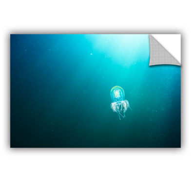 Brushstone Jellyfish Removable Wall Decal