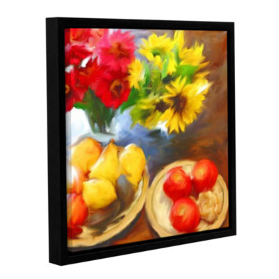 Brushstone Jim's Table Gallery Wrapped Floater-Framed Canvas