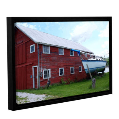 Brushstone No Parking Gallery Wrapped Floater-Framed Canvas Wall Art