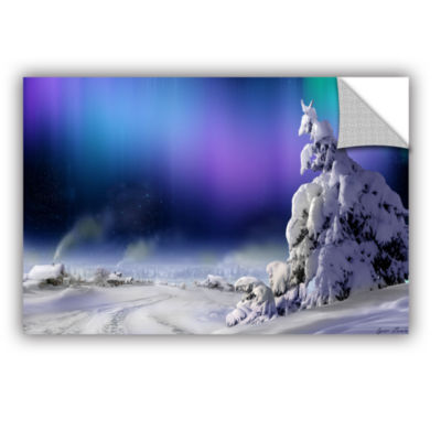 Brushstone Northern Lights Removable Wall Decal