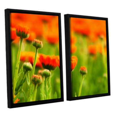 Brushstone Norway 2-pc. Floater Framed Canvas WallArt