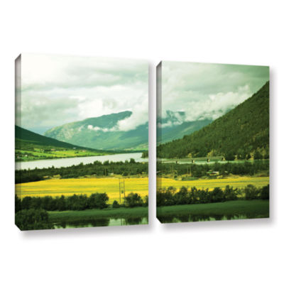 Brushstone Norway 2-pc. Gallery Wrapped Canvas Wall Art