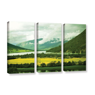 Brushstone Norway 3-pc. Gallery Wrapped Canvas Wall Art
