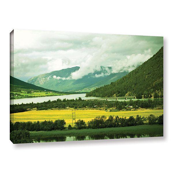 Brushstone Norway Gallery Wrapped Canvas Wall Art