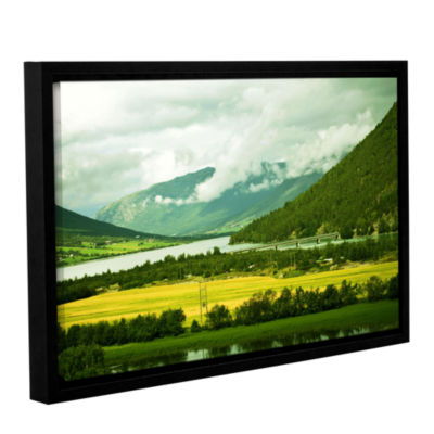 Brushstone Norway Gallery Wrapped Floater-Framed Canvas Wall Art
