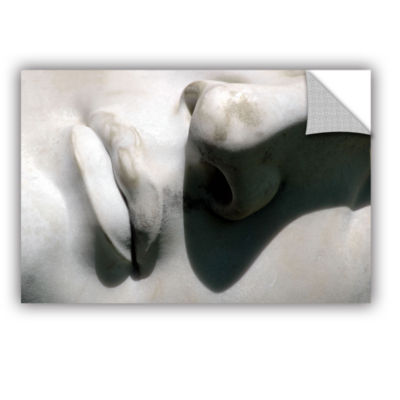 Brushstone Nose And Mouth Removable Wall Decal