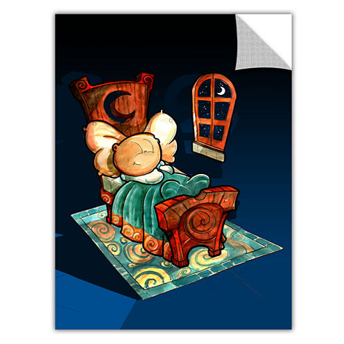 Brushstone Kid In Bed 1 Removable Wall Decal