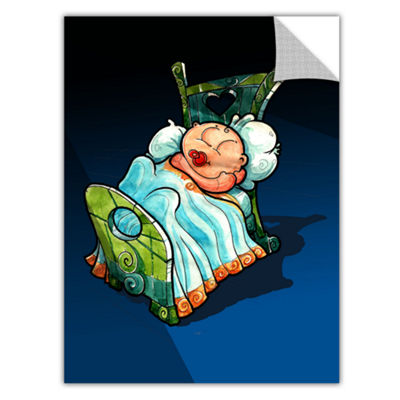 Brushstone Kid In Bed 2 Removable Wall Decal