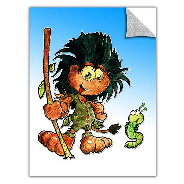 Brushstone Kid Troll Removable Wall Decal