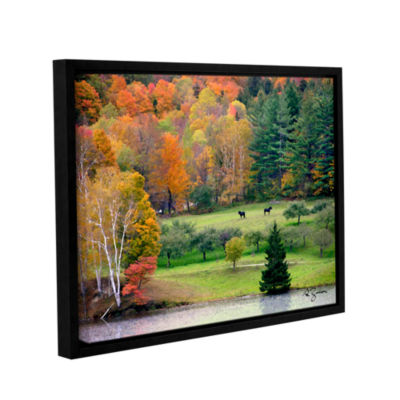 Brushstone Killington Vermont Gallery Wrapped Floater-Framed Canvas Wall Art