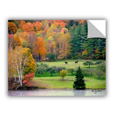 Brushstone Killington Vermont Removable Wall Decal