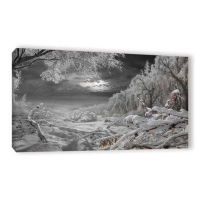 Brushstone Kingdom Of Snow Gallery Wrapped CanvasWall Art