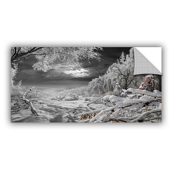 Brushstone Kingdom Of Snow Removable Wall Decal