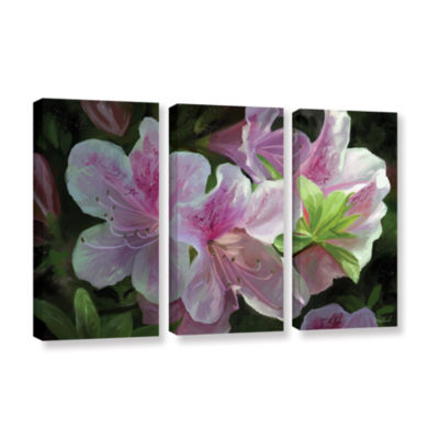 Brushstone Kissed By Sunlight 3-pc. Gallery Wrapped Canvas Wall Art