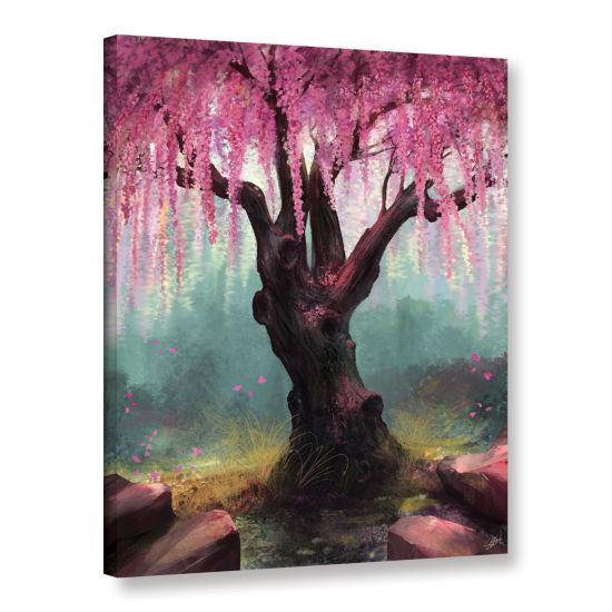 Brushstone Ode To Spring Gallery Wrapped Canvas Wall Art