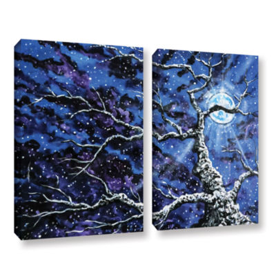 Brushstone Odyssey 2-pc. Gallery Wrapped Canvas Wall Art