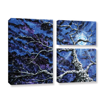 Brushstone Odyssey 3-pc. Flag Gallery Wrapped Canvas Wall Art