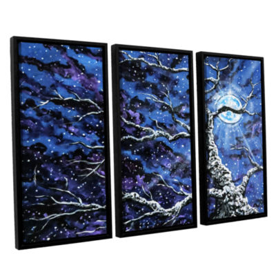 Brushstone Odyssey 3-pc. Floater Framed Canvas Wall Art