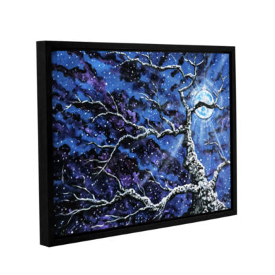 Brushstone Odyssey Gallery Wrapped Floater-FramedCanvas Wall Art