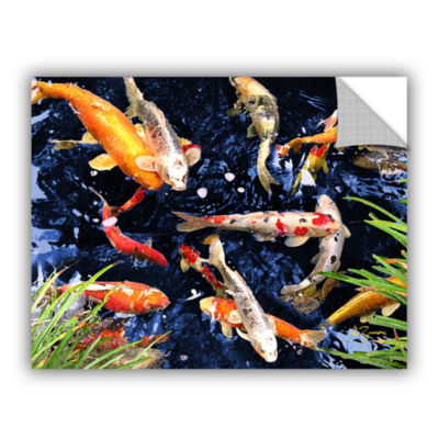 Brushstone Koi Removable Wall Decal
