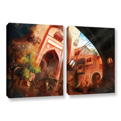 Brushstone Old Times 1 2-pc. Gallery Wrapped Canvas Wall Art