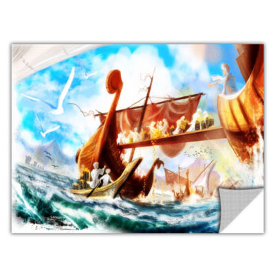 Brushstone Old Times 4 Removable Wall Decal