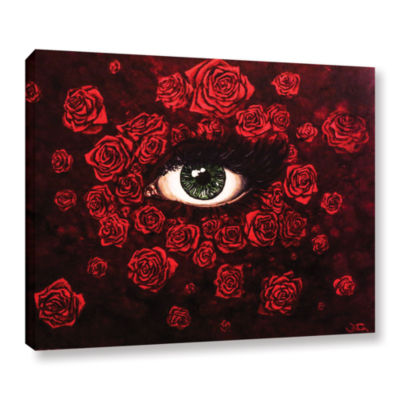 Brushstone La Vie En Rose Gallery Wrapped Canvas Wall Art