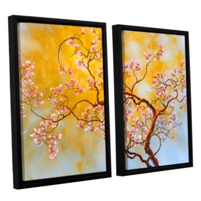 Brushstone Light Of Del Ray 2-pc. Floater Framed Canvas Wall Art