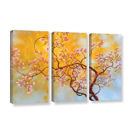Brushstone Light Of Del Ray 3-pc. Gallery WrappedCanvas Wall Art
