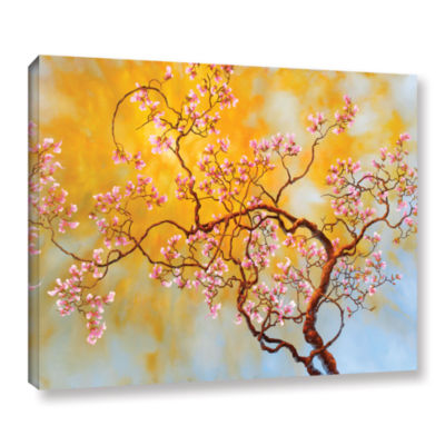 Brushstone Light Of Del Ray Gallery Wrapped CanvasWall Art