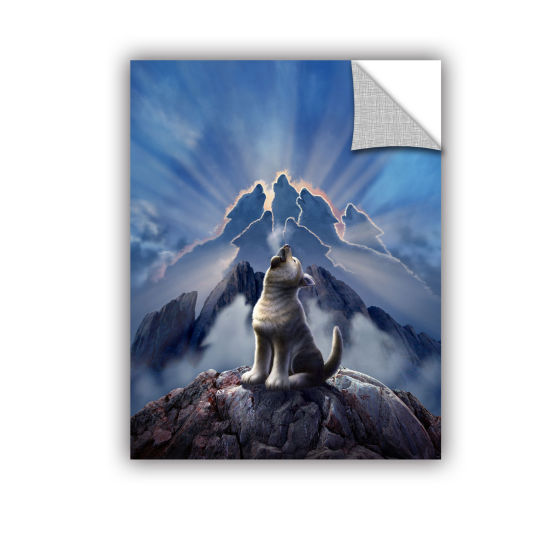 Brushstone Leader Of The Pack Removable Wall Decal