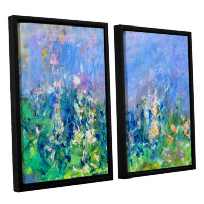 Brushstone Lavender Fields 2-pc. Floater Framed Canvas Wall Art