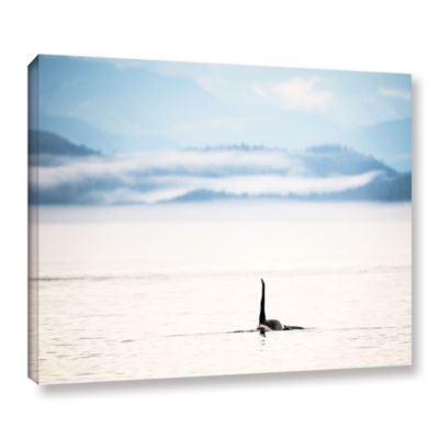Brushstone Orcha Seascape Gallery Wrapped Canvas Wall Art