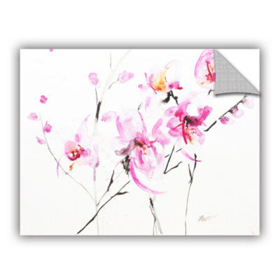 Brushstone Orchid 3 Removable Wall Decal