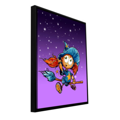 Brushstone Learning To Fly 3 Gallery Wrapped Floater-Framed Canvas Wall Art