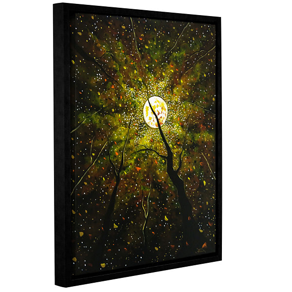 Brushstone Lady Starlight Gallery Wrapped Floater-Framed Canvas Wall Art