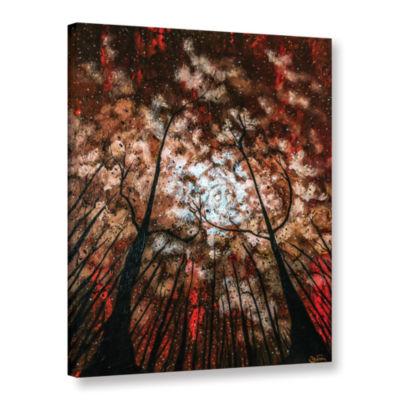 Brushstone Last Night Gallery Wrapped Canvas WallArt