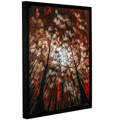Brushstone Last Night Gallery Wrapped Floater-Framed Canvas Wall Art