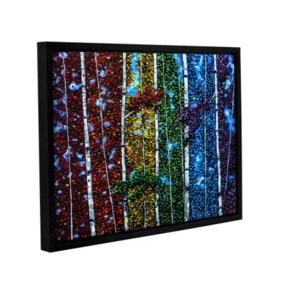 Brushstone Leela's Song Gallery Wrapped Floater-Framed Canvas Wall Art