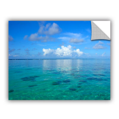 Brushstone Lagoon & Reef Removable Wall Decal