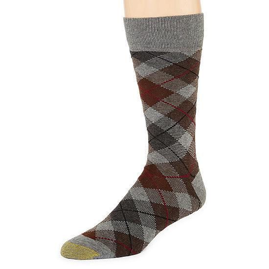 Gold Toe 1 Pair Crew Socks-Mens