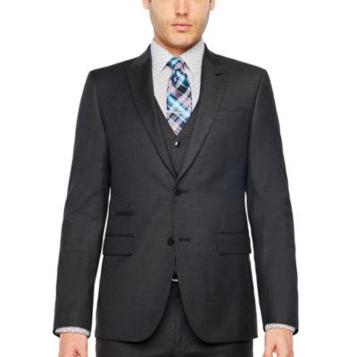 JF J.Ferrar-Slim Slim Fit Stretch Suit Jacket