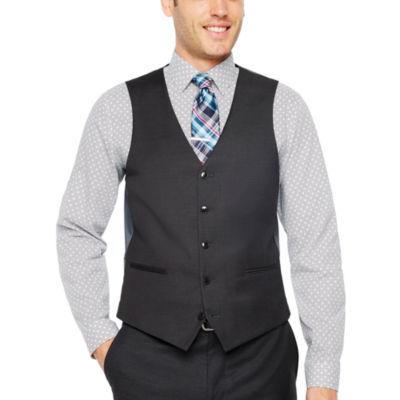 JF J.Ferrar Slim Fit Stretch Suit Vest - Slim