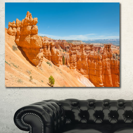 Designart Beautiful Bryce Canyon Landscape CanvasArt Print