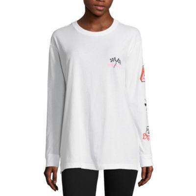 """Flirtitude """"Girl Power"""" Graphic T-Shirt- Juniors"""