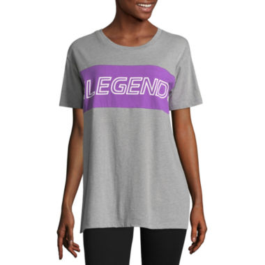 "Flirtitude ""Legend"" Graphic T-Shirt - Juniors"